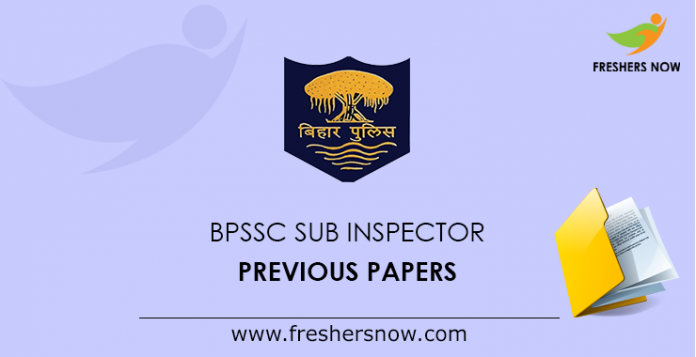 BPSSC Sub Inspector Previous Papers