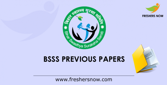 BSSS Previous Papers
