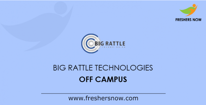 Big Rattle Technologies Off Campus