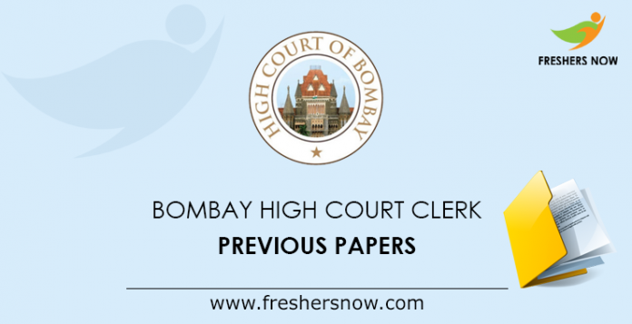 Bombay High Court Clerk Previous Papers