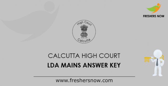 Calcutta High Court LDA Mains Answer Key
