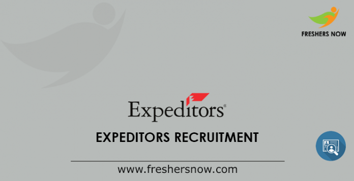 Expeditors Recruitment
