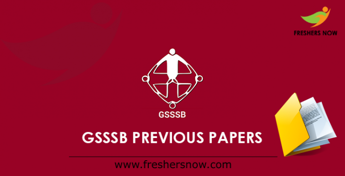 GSSSB Previous Papers