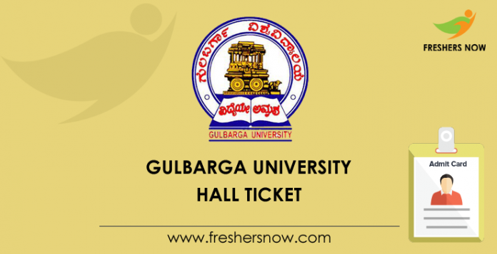 Gulbarga University Hall Ticket