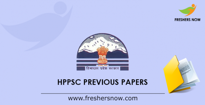 HPPSC Previous Papers