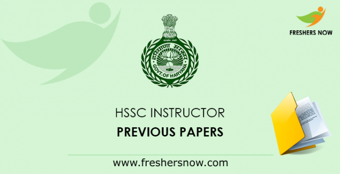 HSSC Instructor Previous Papers