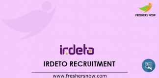 Irdeto Recruitment
