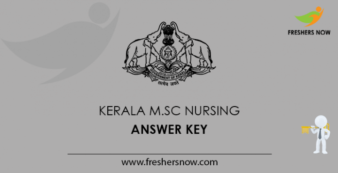 Kerala M.Sc Nursing Answer Key