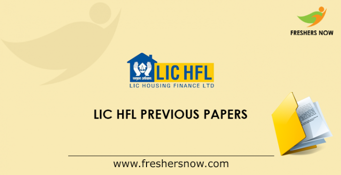 LIC HFL Previous Papers