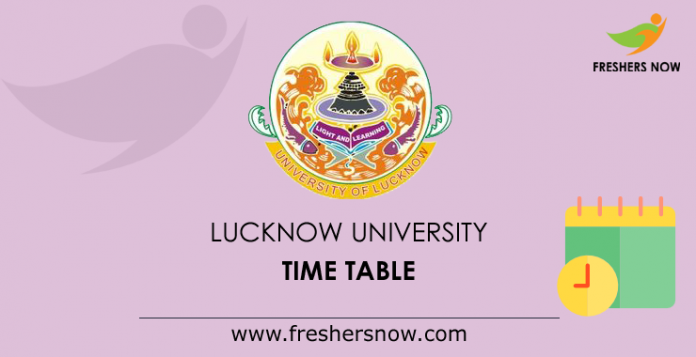 Lucknow University Hours