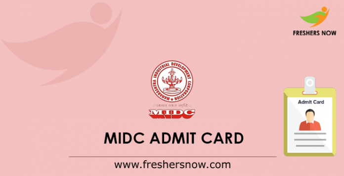 MIDC Admit Card