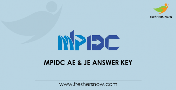 MPIDC AE & JE Answer Key