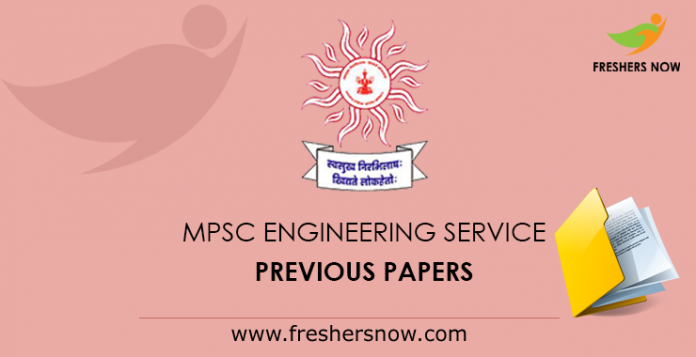 MPSC engineering service previous papers