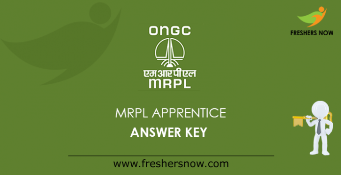 MRPL Apprentice Answer Key