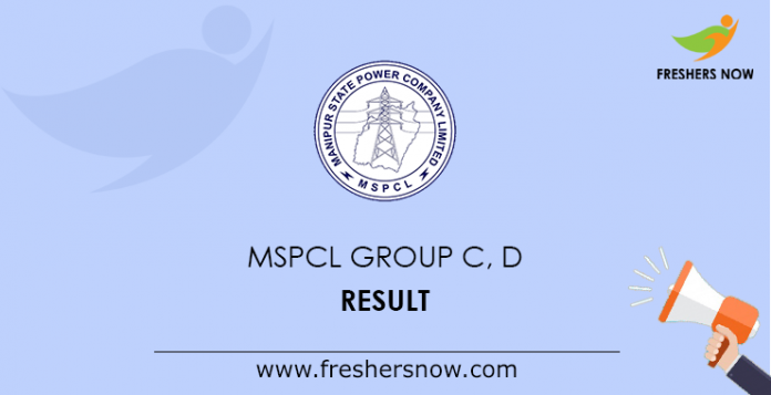 MSPCL Group C, D Result