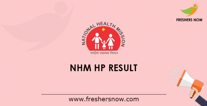 NHM HP Result