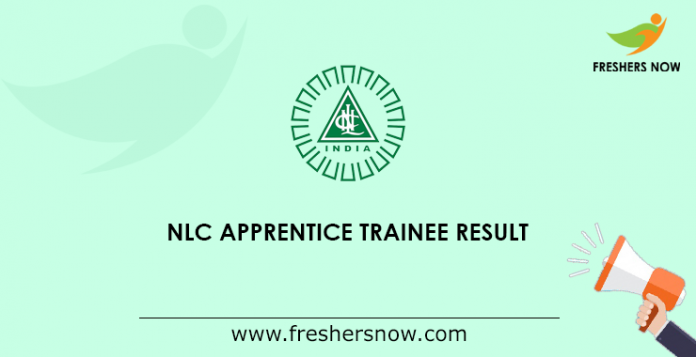 NLC Apprentice Trainee Result
