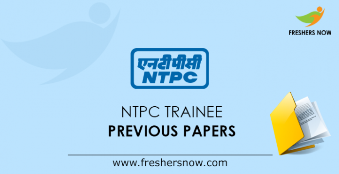NTPC Trainee Previous Papers