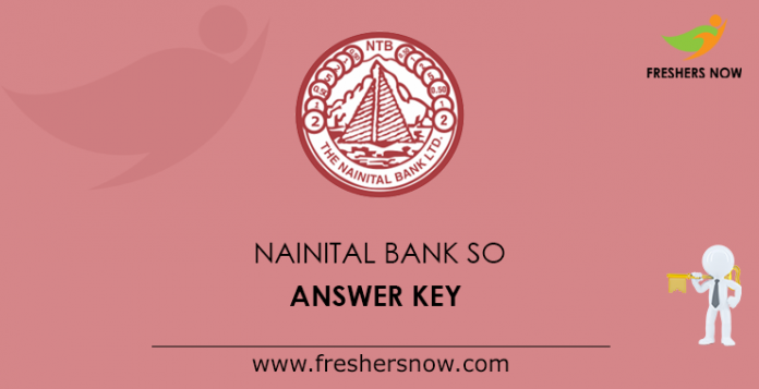 Nainital Bank SO Answer Key