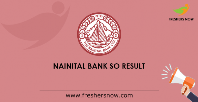Nainital Bank SO Result