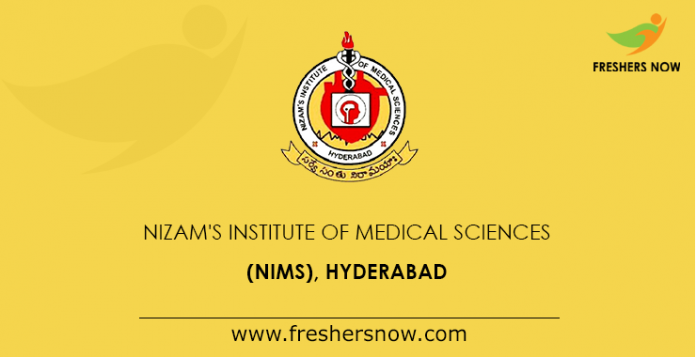 Nims Hyderabad Nims Edu In Courses Fee Structure Admission