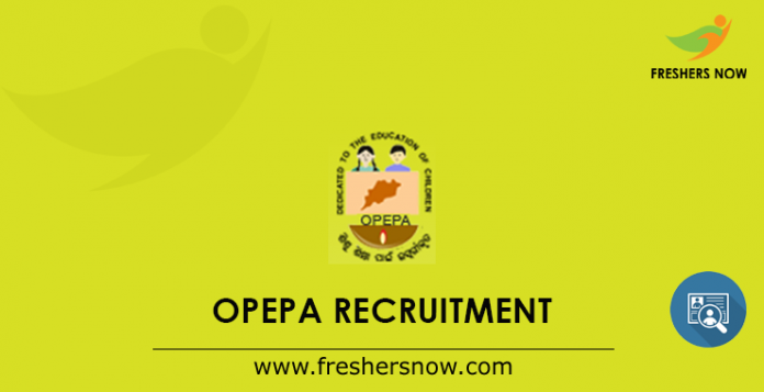 OPEPA Recruitment