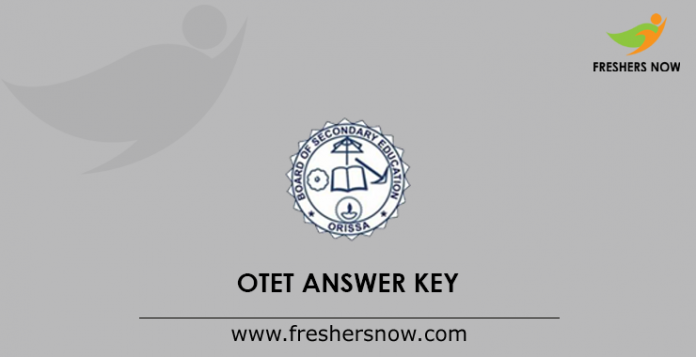 OTET Answer Key