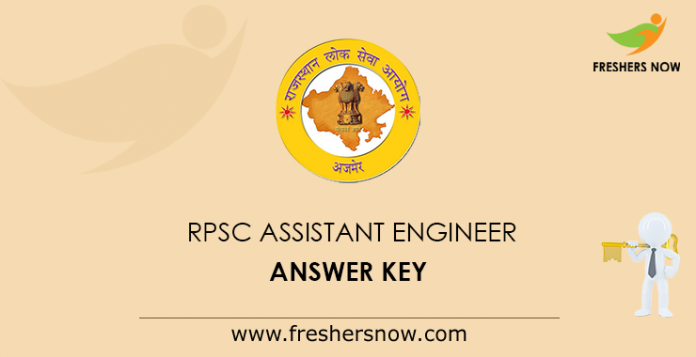 RPSC Assistant Engineer Answer Key