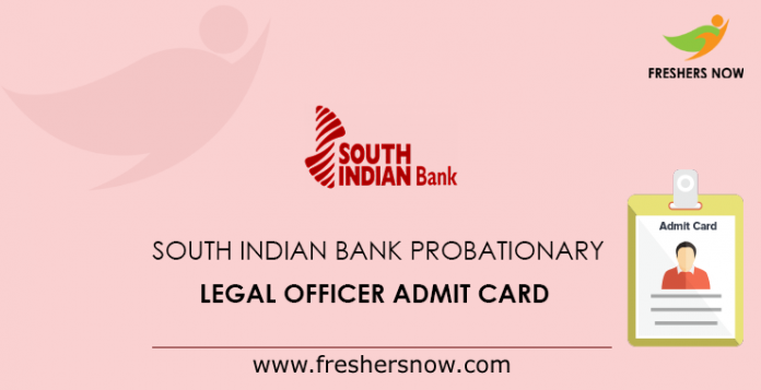 South Indian Bank Probationary Legal Officer Admit Card (1)