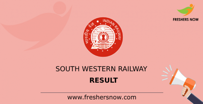 South Western Railway Result