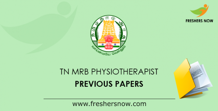 TN MRB Physiotherapist Previous Papers