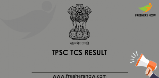 TPSC TCS Grade 2 Result