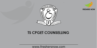 TS CPGET Counselling