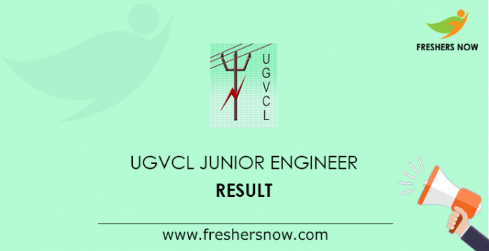 UGVCL Junior Engineer Result