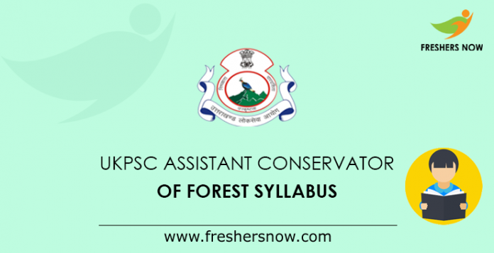 Ukpsc Acf Syllabus 2019 Pdf Assistant Conservator Of