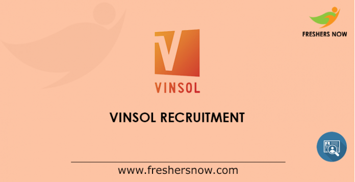 Vinsol Recruitment