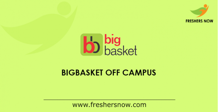 bigbasket Off Campus