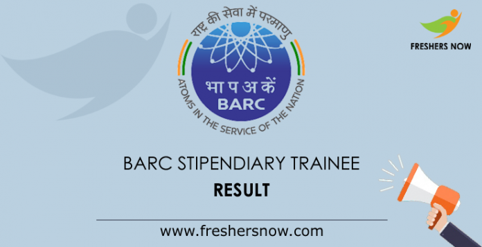 BARC-Stipendiary-Trainee-Result