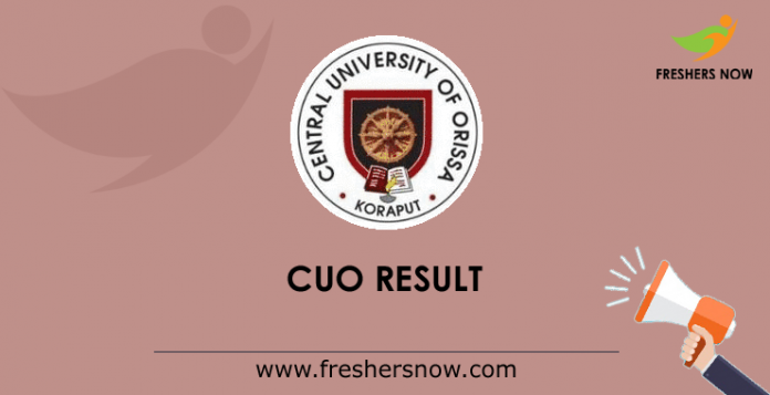 CUO Result