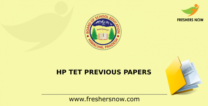 HP TET Previous Papers
