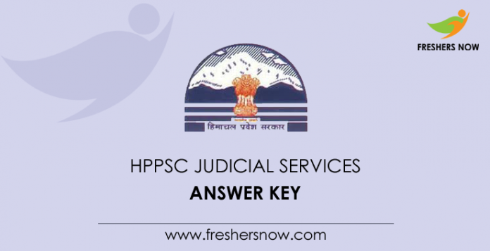 HPPSC Judicial Services Answer Key
