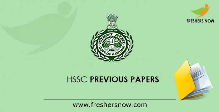 HSSC Previous Papers