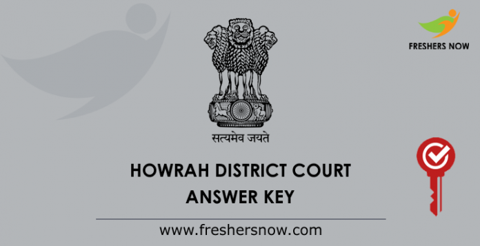 Howrah District Court Answer Key