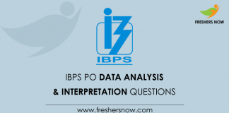 IBPS PO Data Analysis & Interpretation