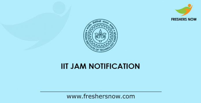 IIT JAM Notification
