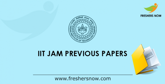 IIT JAM Previous Papers
