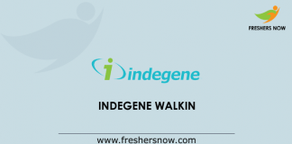 Indegene Walkin