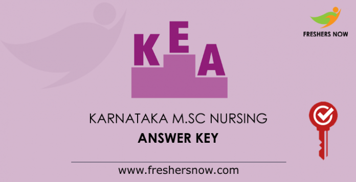 Karnataka M.Sc Nursing Answer Key