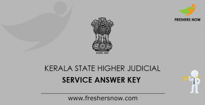 Kerala State Higher Judicial Service Answer Key
