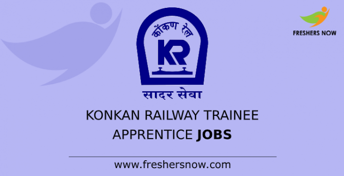 Konkan Railway Trainee Apprentice Jobs